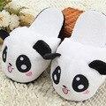 Теплые домашние тапочки-панды