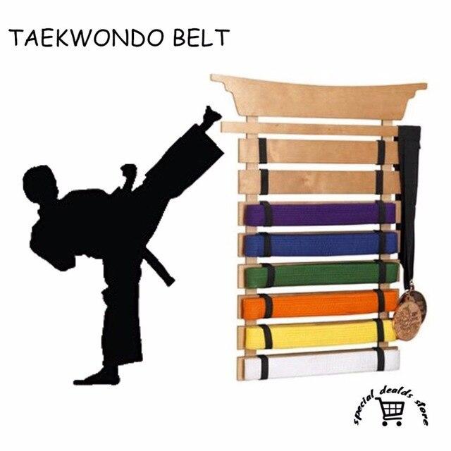 4e2af6494728 KANGRUI Taekwondo 10 Couleurs Ceintures Judo Jujitsu Karaté Arts Martiaux Hapkido  Ceinture Sash