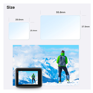 Image 5 - Screen Protector for GoPro 8 Hero7 Black 6 5 2020 Accessories Protective Film Tempered Glass for GoPro 8 Hero 7 6  Action Camera