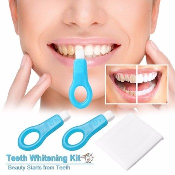 12pcs Nano Tube Teeth Whitening Kit Teeth Cleaning Whitener Brush Tooth Stains Remover Teeth Cleaning Strips for Oral Deep Clean
