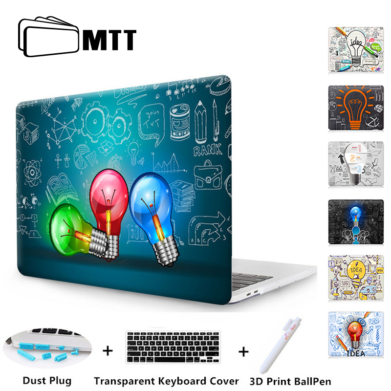 MTT Light Bulb Case For Macbook Air Pro Retina 11 12 13 15 Laptop Case for Mac Book 13.3 15 inch Touch Bar 2017 2018 New Cover цена и фото