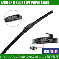 RAINFUN JH001 28 28 R Dedicated Car Wiper Blade For DODGE GRAND CARAVAN 95 07