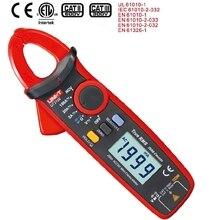 UNI T UT210E TRUE RMS цифровой зажим метр AC DC мультиметр Авто Диапазон токовые клещи Вольтметр Амперметр Омметр VFC NCV