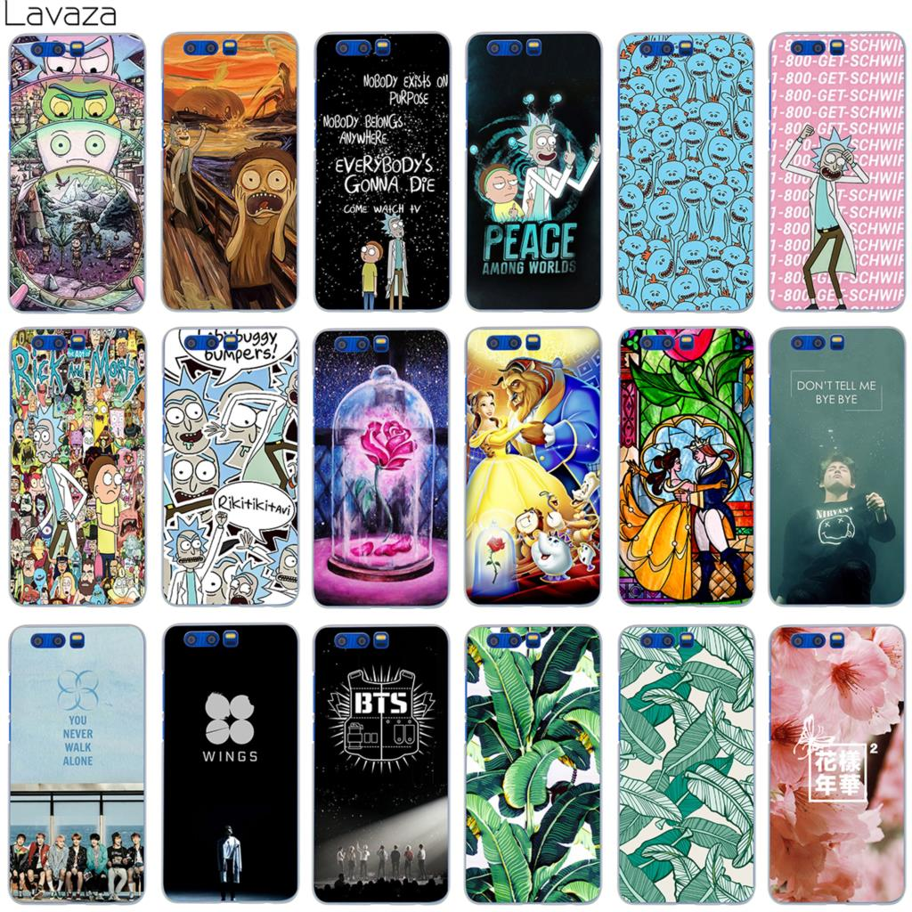Lavaza Rick and Morty Bts Bangtan Boys Beauty And The Beast Case for Huawei Honor Mate Nova 9 P20 2i 2 2s P Smart Lite Pro Plus