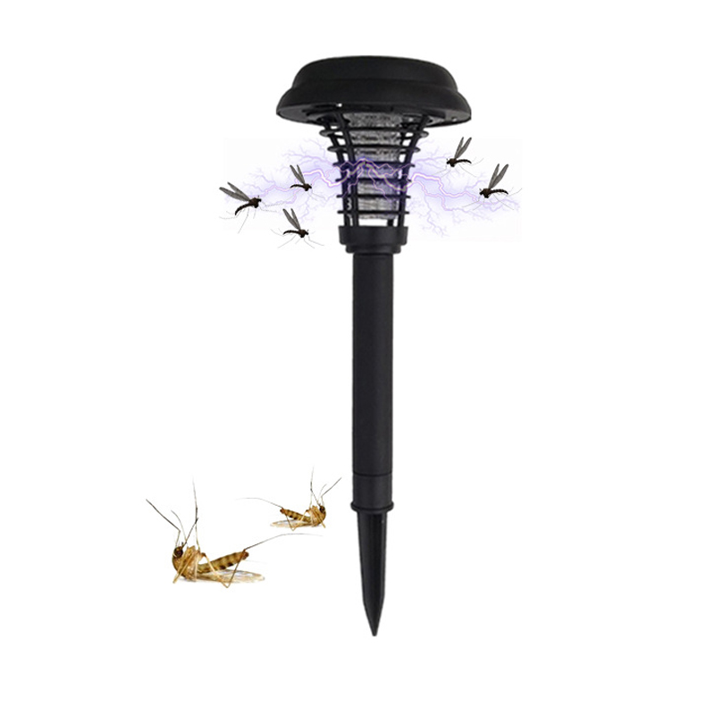 Iguardor AK-5009 Outdoor LED Solar Light Environment-friendly Garden Yard Lawn Path UV Mosquito Bug Zapper Killer solar shaking little duck environment friendly ornamentation