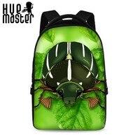 HUE MASTER Large Capacity Zipper Pocket Design Laptop Backpacks Boy Girl School Bags Multi Purpose Laptop