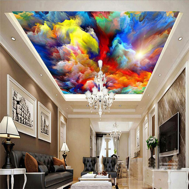 Background Colorful Room: Mural 3d Wallpaper Home Decor Photo Background Colorful