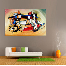 handmade oil painting Canvas Painting Abstract Art World modern Best original directly from artis