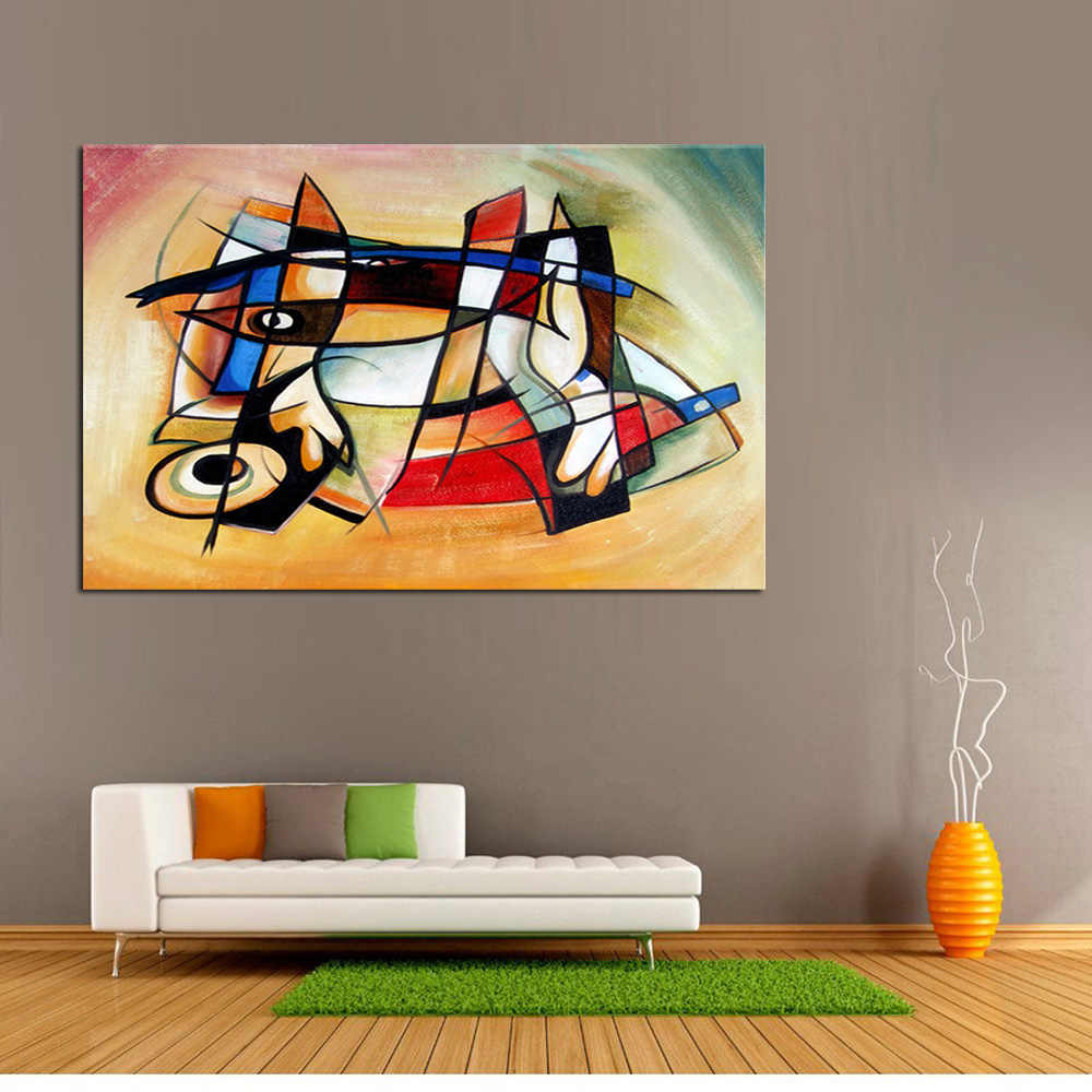 Handmade Oil Painting Canvas Painting Abstract Art World Modern Best Art Abstract Oil Painting Original Directly From Artis
