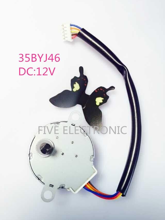 35BYJ46 12V 4 phase 5 draht Getriebemotor + XH leitungsdraht Schritt ...