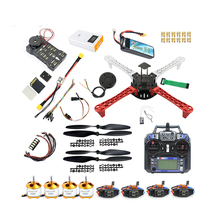 DIY Drone Quadcopter 450mm Frame kit 920KV CW CCW Motor 9433 Propellers 30A ESC APM 2.8 Flight Controller GPS Compass jmt gps apm2 8 flight control 30a esc bec 920kv brushless motor 9450 propeller for 4 axis diy gps drone