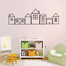Classic Houses  Wall Stickers Animal Lover House Decoration For Kids Room Decal Creative