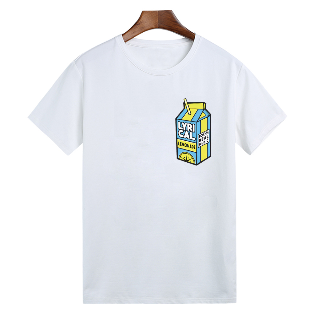 lyrical lemonade Unisex <font><b>tshirt</b></font> 100% real music <font><b>Funny</b></font> <font><b>tshirt</b></font> For Men/Women Short Sleeve Top Tees Shirt image