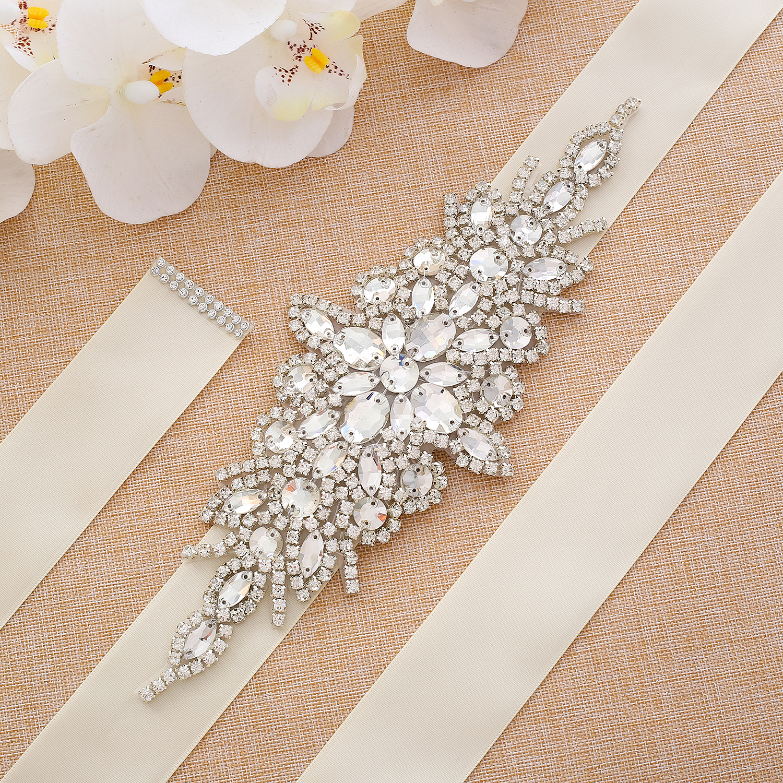 Wedding Belt Wedding Accessories Satin Wedding Dress Belt Bridal Ribbon Waistband Sash Belt For Wedding Dresses