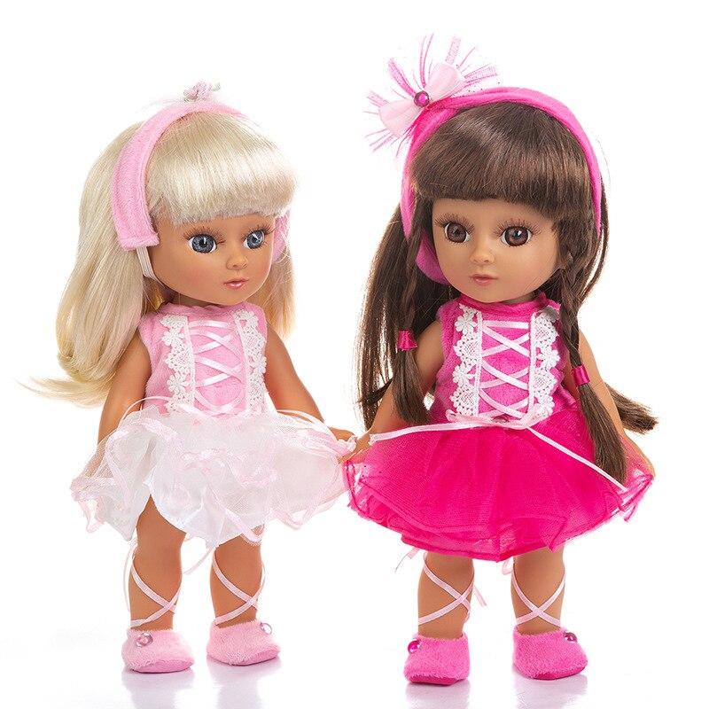 14.5 polegada reborn boneca do bebê brinquedos empregada doméstica vestir boneca como real vinil princesa criança bebês bonecas meninas bonecas presente de aniversário