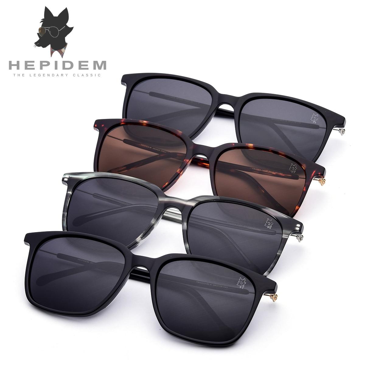 61b21ba24fe Acetate Sunglasses Men Polarized Brand Designer 2018 New Fashion d Squared  Mirror Korean Sun Glasses for Women Screwless Eyewear-in Sunglasses from  Apparel ...