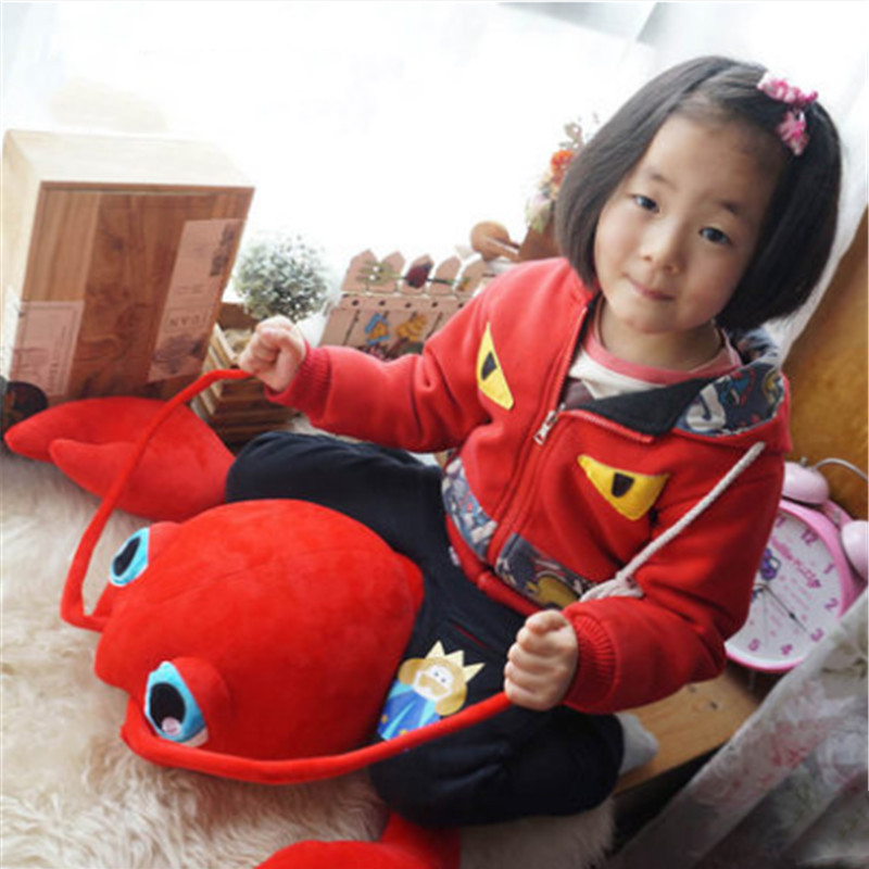 Fancytrader Red Lobster Stuffed Animlas Plush Toys Giant Soft Crayfish Pillow Doll 100cm 39inch fancytrader new style giant plush stuffed kids toys lovely rubber duck 39 100cm yellow rubber duck free shipping ft90122