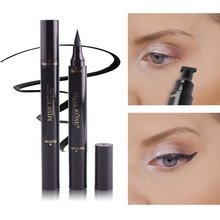 Top Quality Makeup Liquid Eyeliner Pencil Quick Dry Waterproof Eye Liner Black Color With Stamp Beauty