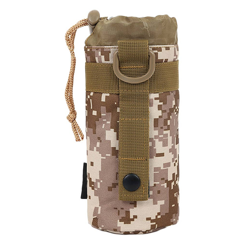 Water bottle sport Utility Medic Kettle Package Hunting Outdoor Travel Bag 3 Styles Outdoor Sports Bags Camouflage package #2A23