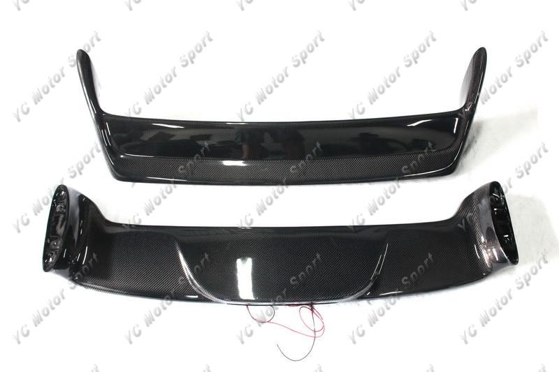 Akcesoria samochodowe Tylny spojler z włókna węglowego ze - Części samochodowe - Zdjęcie 4