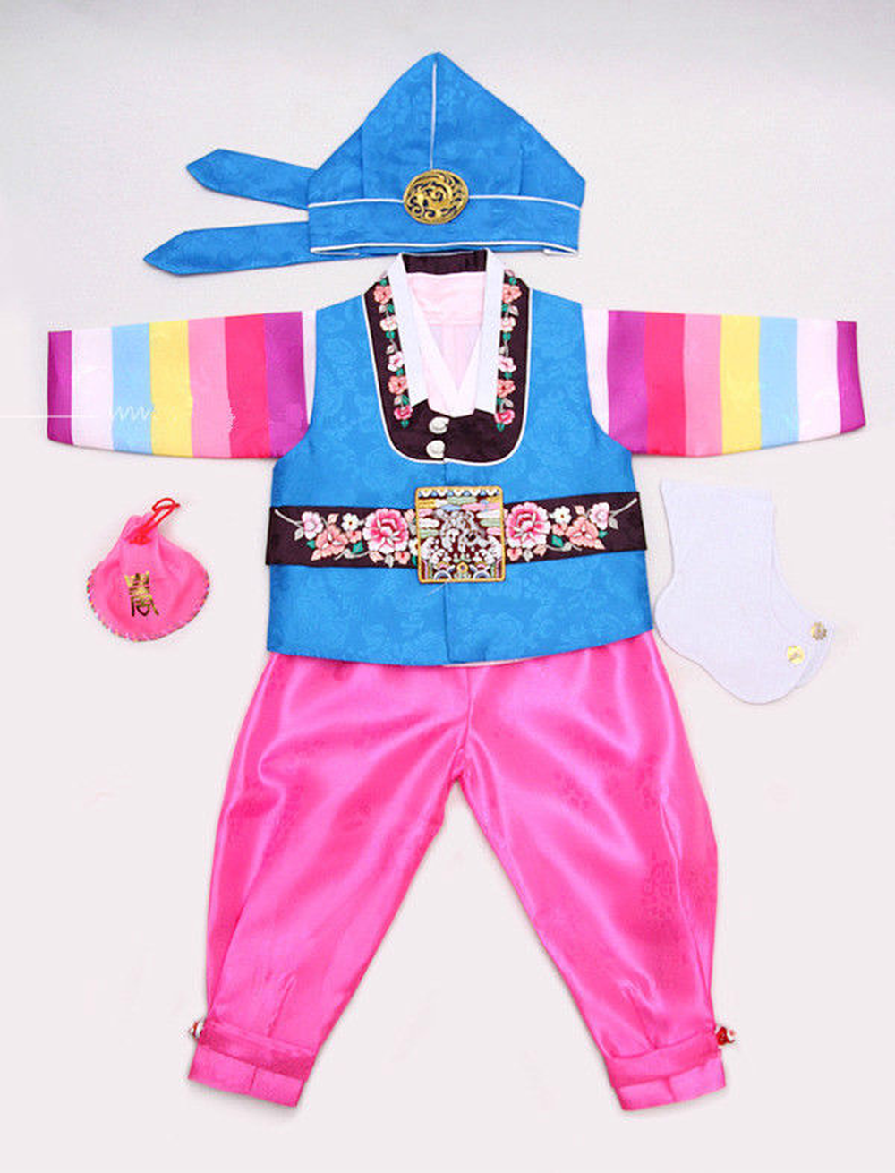 Korean Hanbok Baby Boy 1st Birthday Party Hanbok Dolbok Korean Traditional Dress