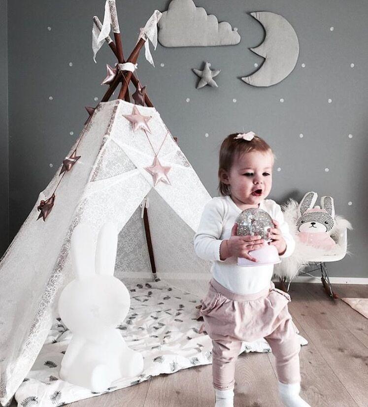 3pcs stjerne månen sky Vegg Hengende Dukke Baby Komfortabel Plysj - Dukker og utstoppede leker - Bilde 6