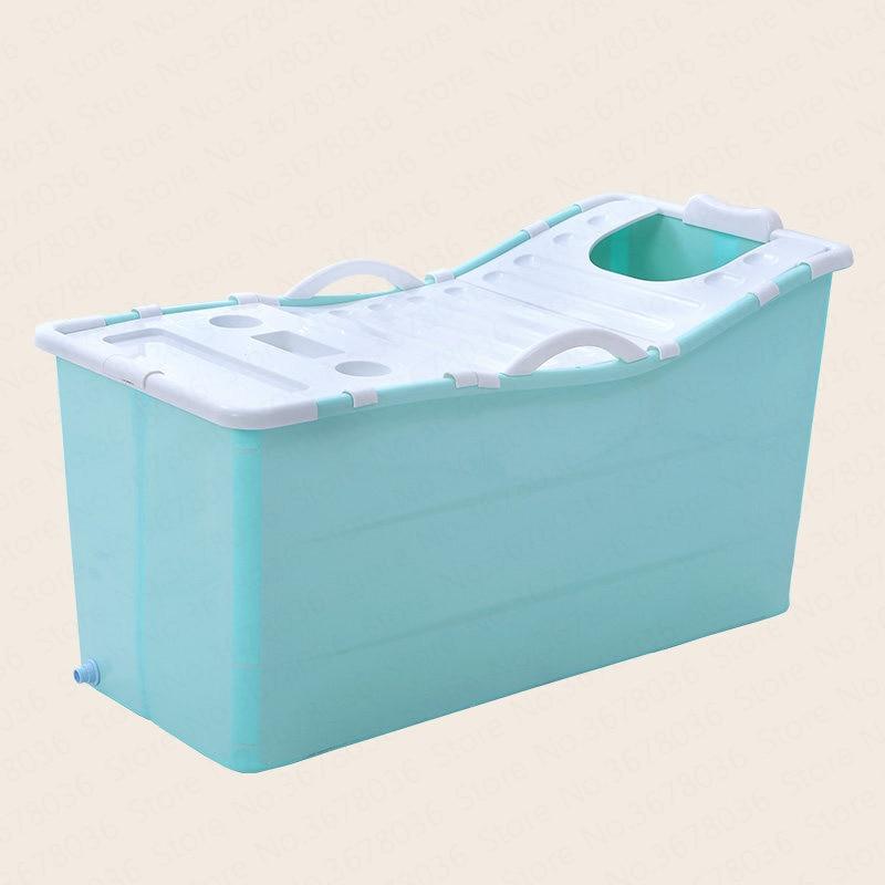 Pliable adulte bain baril adulte bain baril corps complet ménage baignoire enfants augmenter en plastique douche bain bassin