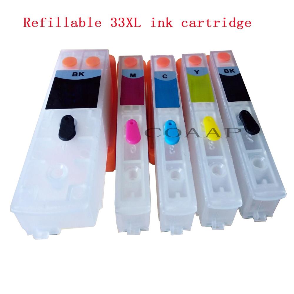Пустой пополняемый картридж для принтера Epson XP 530 630 830 635 540 640 645 900
