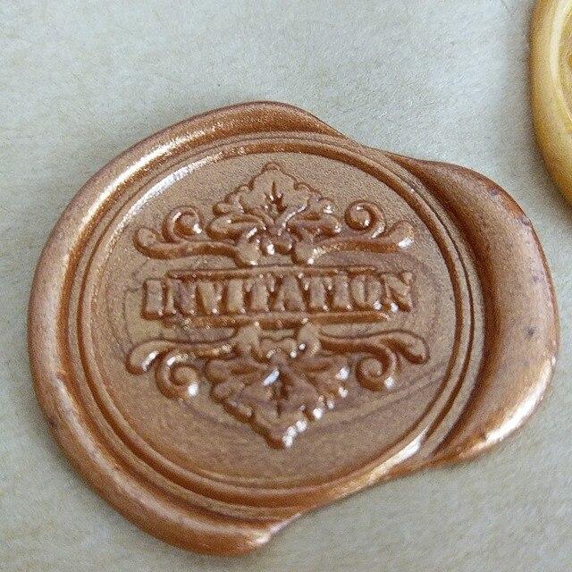 Invitation Wedding Wax Seal Stamp Envelope Diy Sealing Custom Design Box Set