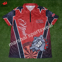 Sublimation Customized Polo T Shirt 100 Polyester Free Shipping