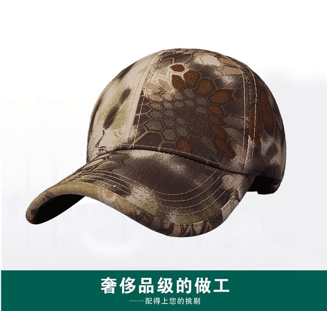 High-end men s fashion leisure baseball hat Happy Valley autumn and winter  camouflage design is not the same 7c9e3f32985