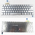 New US Keyboard For Acer Aspire S7-391 S7-392 MS2364 laptop silver keyboard
