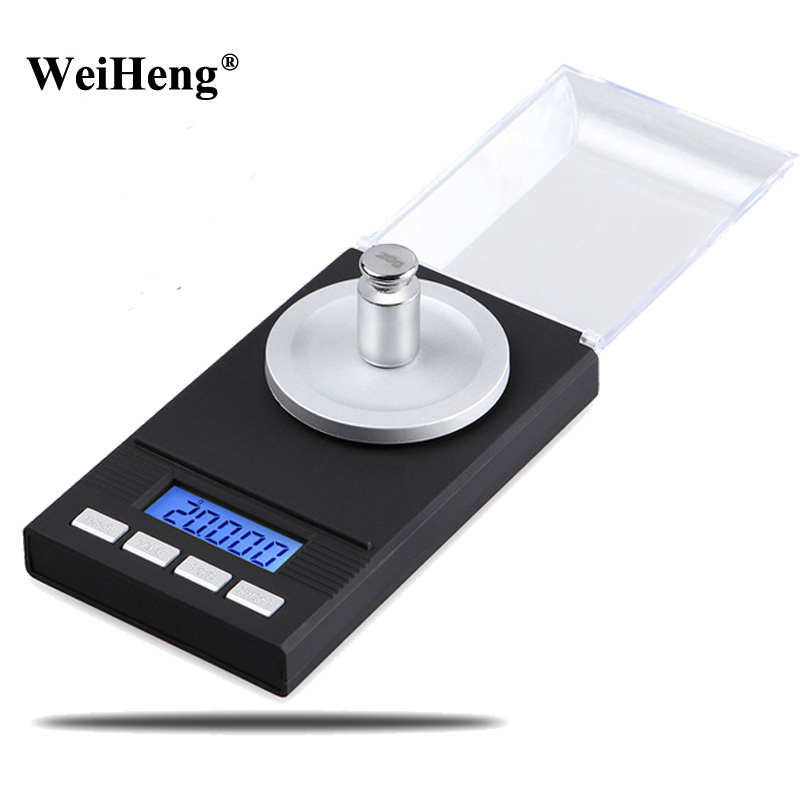 Precision Digtial 0.001 Milligram Electronic Balance 50g/0.001g Pocket Jewelry Weighing Scale Libra Gram Coin steelyard LCD digital milligram gram scale jewelry weight high precision 20g 50g 0 001g balance diamond electronic weighing scale