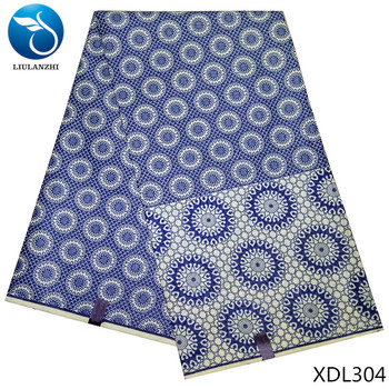 LIULANZHI indian brocades fabric damask african fabric high quality african polyester fabric wax for men 6 yards 13L292-13L308 partes del cable coaxial