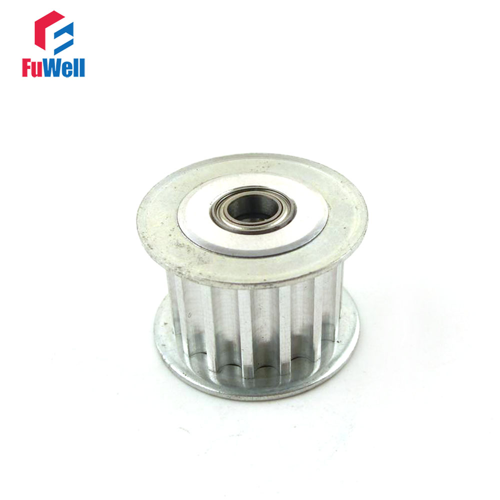 2pcs HTD 5M-15T Timing Idler Pulley 15 Teeth 3/4/5/6/7/8/9mm Bore Idle Belt Pulley 16/21mm Belt Width Bearing Synchronous Wheel hq hdmi v1 3 7 5m hqss5550 7 5