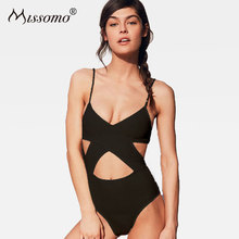 Missomo Women Sexy Bodysuit Intimate Hollow Out Romers Female Summer Beach Backless Playsuits Erotic Slim Fit