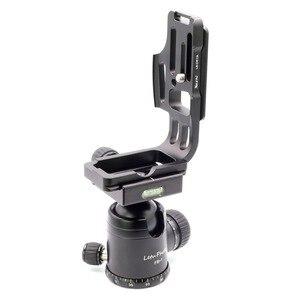 Image 4 - Xiletu LB D810L L Type professionnel plaque de support trépied plaque de dégagement rapide tête Base poignée poignée pour appareil photo D800 D800E D810