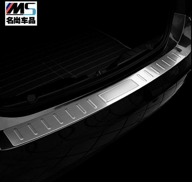 Защитная Накладка На Задний Багажник Отделка Крышки Порога Задней Двери Подоконник Стайлинга Автомобилей Для X6 2008-2013