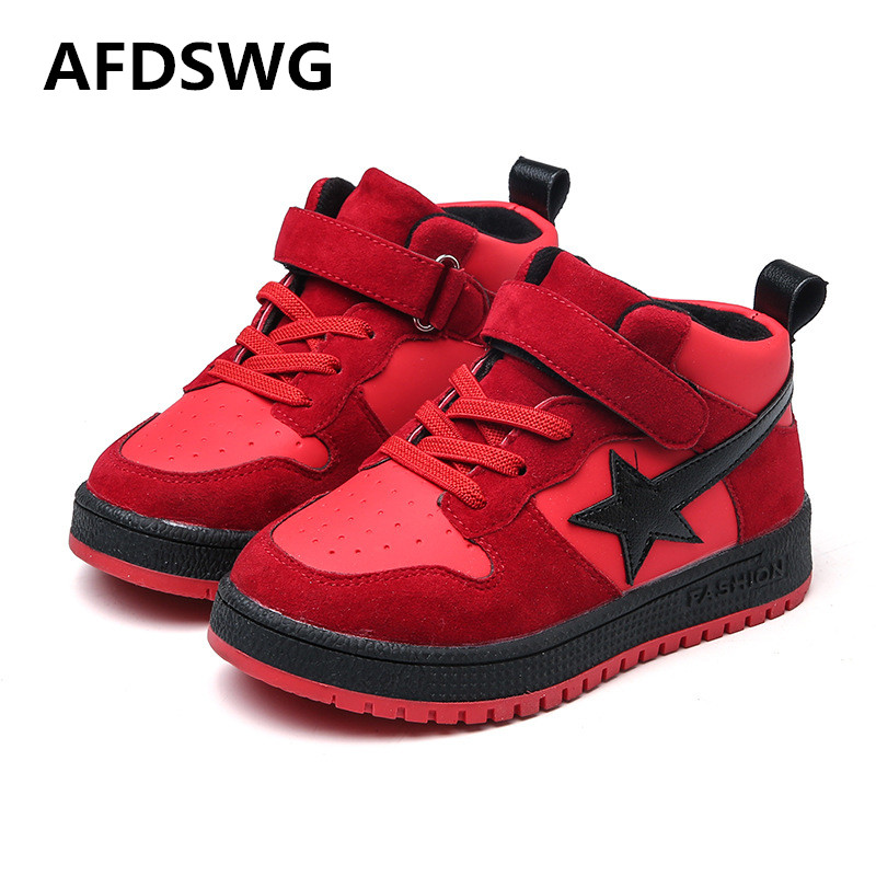 Spring and summer new fashion black casual shoes for boys sneakers kids children sport women