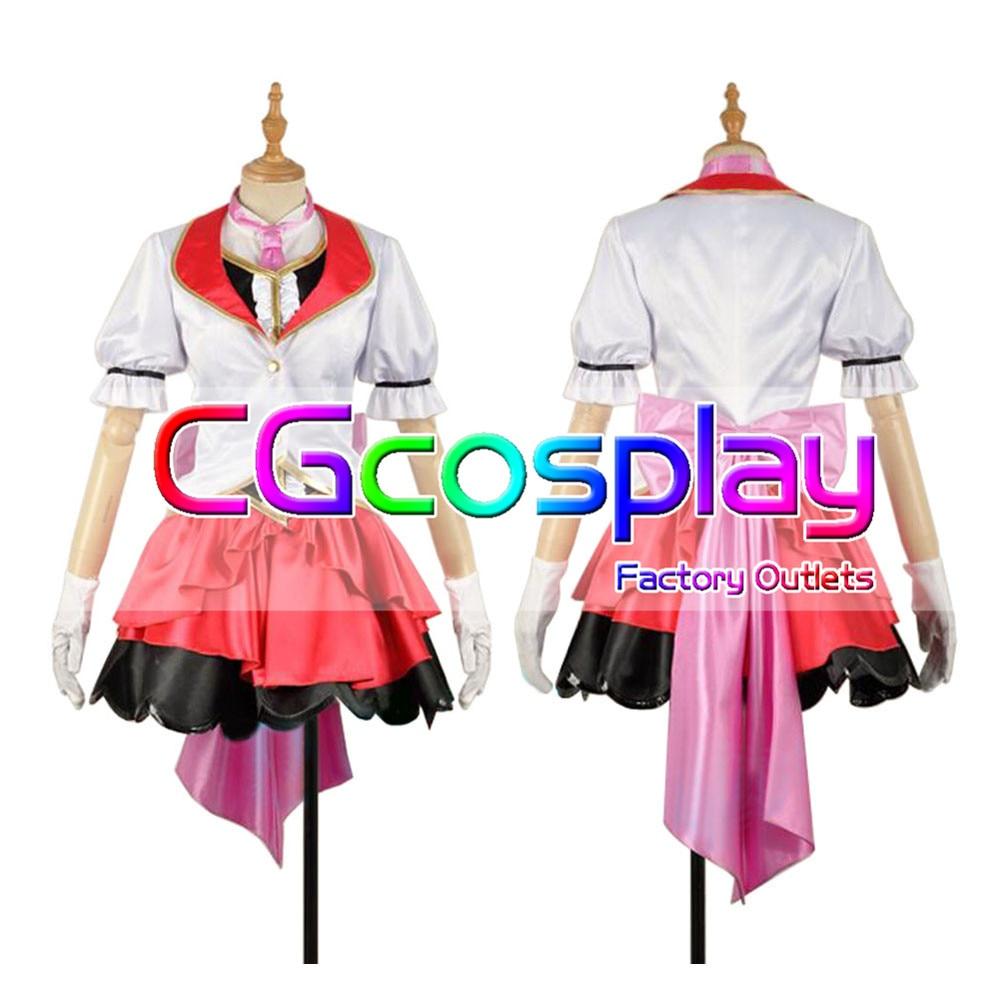 CGCOS Love Live Sunshine!! Mirai Ticket Mari Ohara Uniform Anime Game Cosplay Costume Halloween Christmas Full set New
