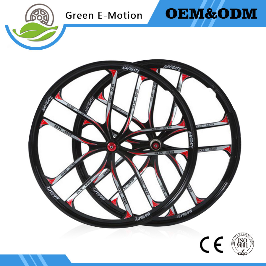 26 mountain bike bearing two piece wheel disc magnesium alloy disc brake wheel bicycle rim 26 32 holes disc brake mountain bike wheel alloy cassette ball hubs wheel suitable for 7 8 9 speed mountain bike accessories