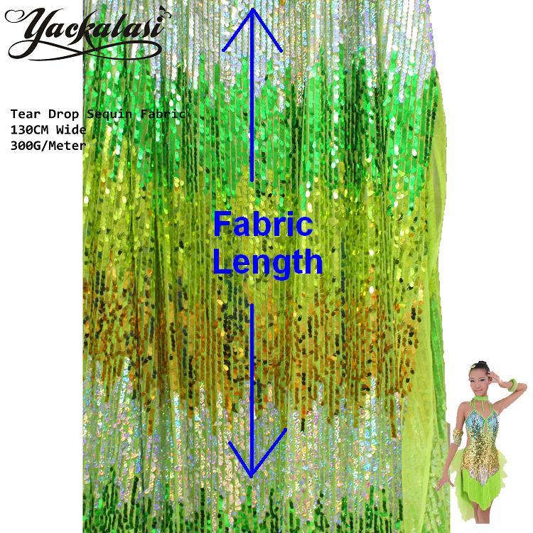 Sparkly Sequined Lace Fabric Διάφορα Χρώματα Stripe - Τέχνες, βιοτεχνίες και ράψιμο - Φωτογραφία 2
