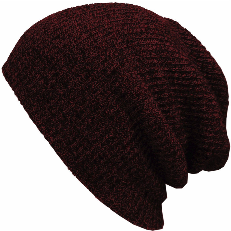 Men's Skullies Winter Knitted Hat Male Brand Beanies Cap Casual Solid Color Sets Headgear Hats For Women bonnet dad hat 2pc skullies