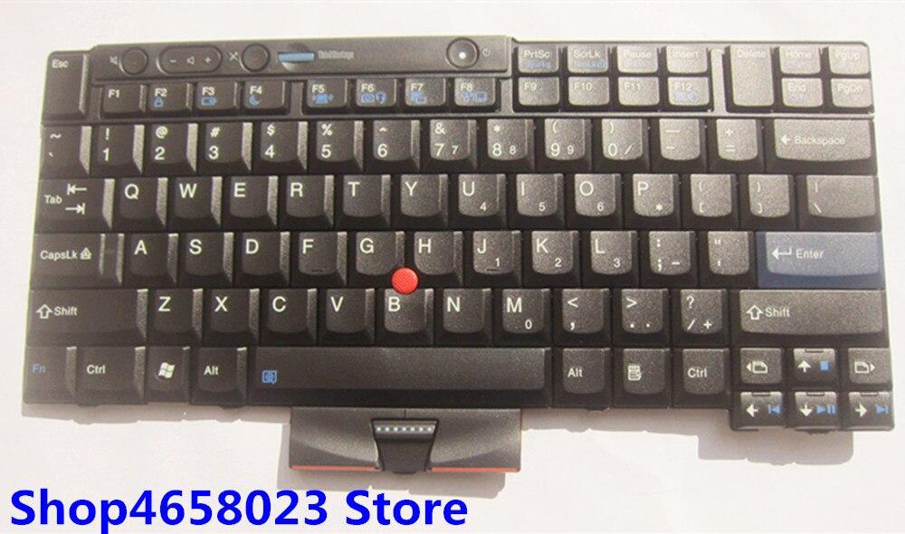 MONew original US keyboard For ThinkPad T400S T410S T410 T410i T420 T420S X220 X220I T510 W510