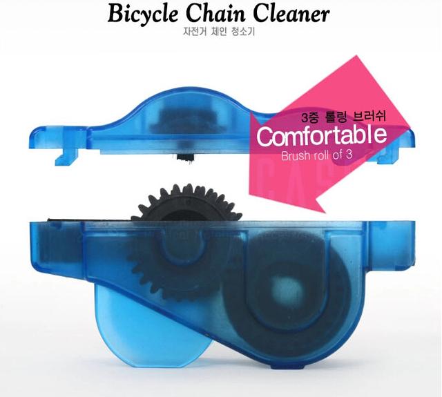 WEST BIKING Bicycle Chain Cleaner Cycling Repair Machine Brushes Scrubber Wash Tool MTB Mountain Bike Chain Cleaner Tool Kits