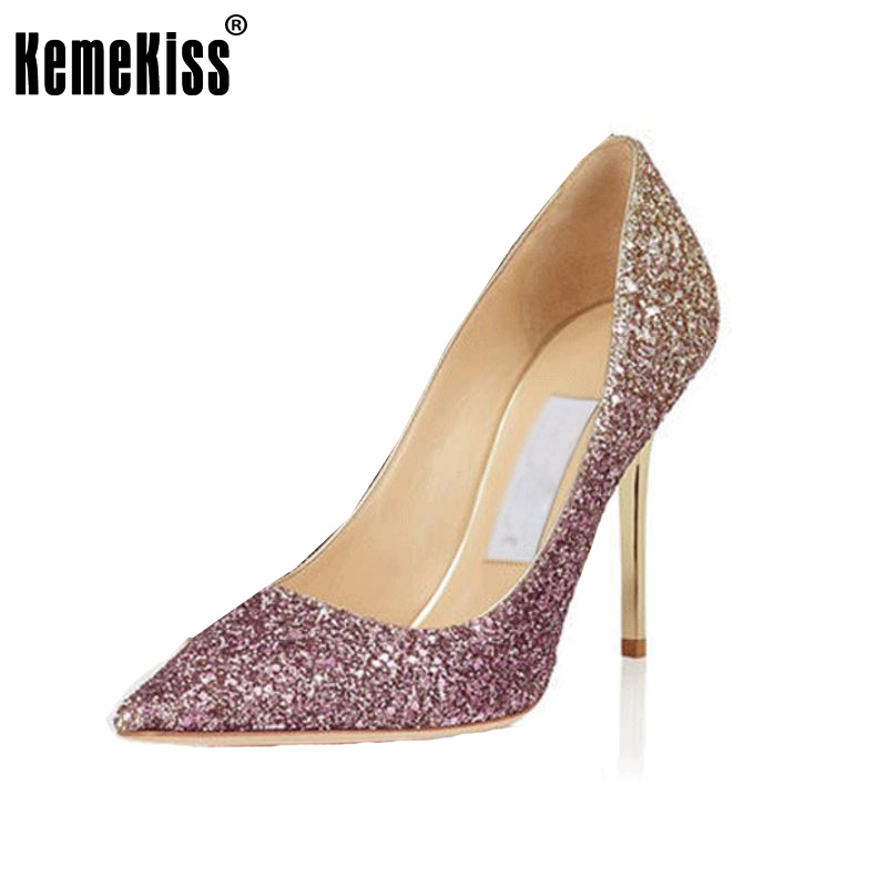 women real genuine leather high heel shoes sexy wedding brand pumps mixed color heeled footwear heels shoes size 34-39 R08555 кастрюля 2 л taller tr 7392