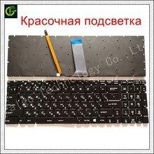 Ruso retroiluminado teclado para MSI GT62 GT72 GE62 GE72 GS60 GS70 GL62 GL72 GP62 GP72 CX62 GS63VR GS73VR GT72VR GT83VR GE62V RU
