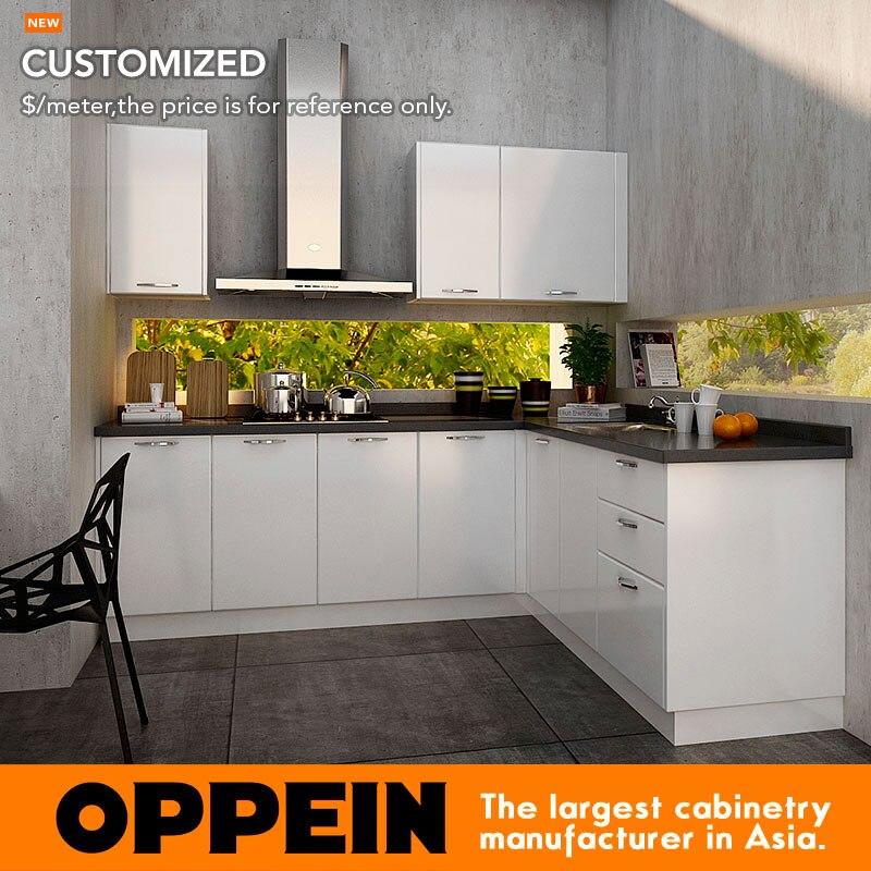 7 Days Delivery Guangzhou Professional Luxury Kitchen Furniture Set Kitchen Cabinet  OP14-K009