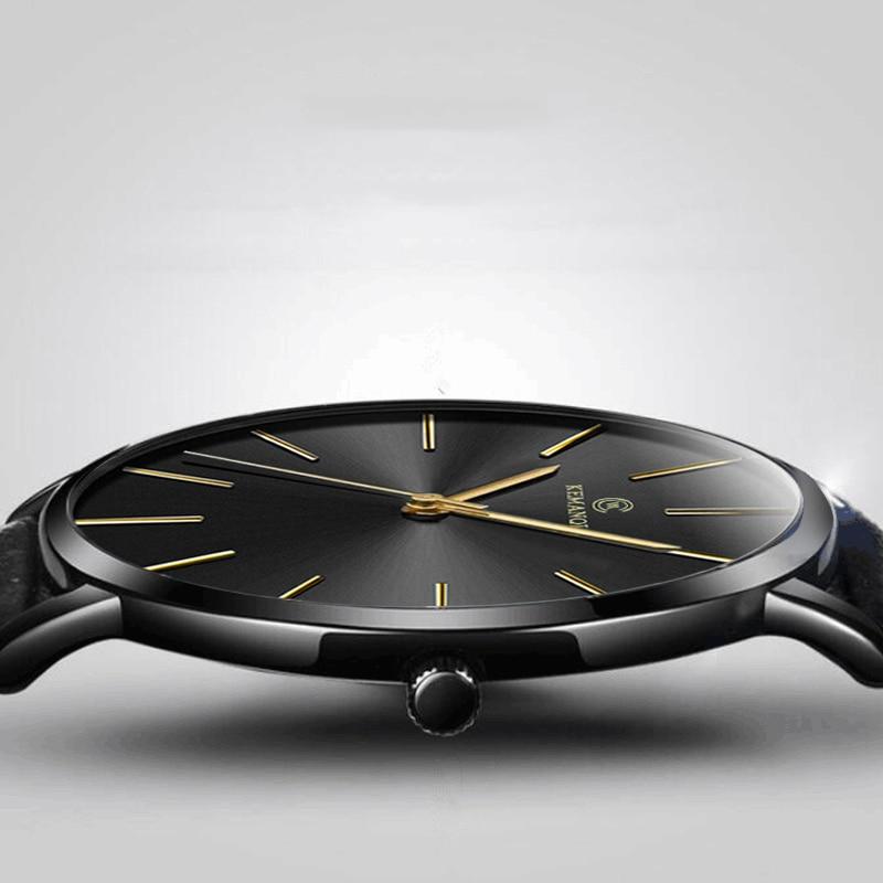Relogio Masculino męskie zegarki Top marka luksusowe Ultra cienki zegarek mężczyzna zegarka mężczyzna zegarków zegar erkek kol saati reloj hombre 1