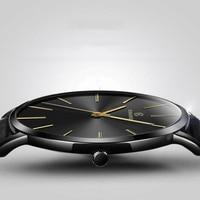 Relogio Masculino męskie zegarki Top marka luksusowe Ultra cienki zegarek mężczyzna zegarka mężczyzna zegarków zegar erkek kol saati reloj hombre
